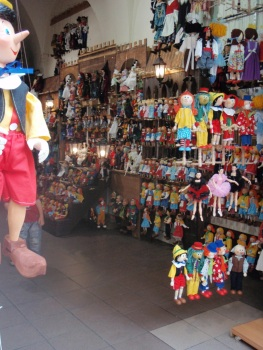 Traditional Pinnochio Puppets